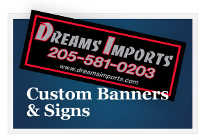 Custom Banners and Signs Example